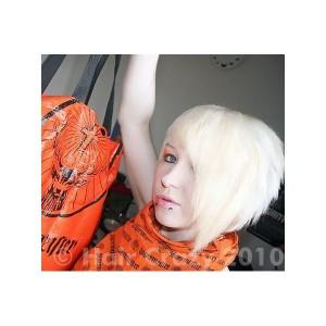 Belle coloration cheveux blancs pour femme