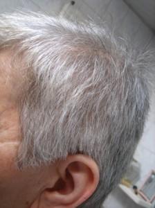 Mode pour femme : coloration cheveux blancs henne