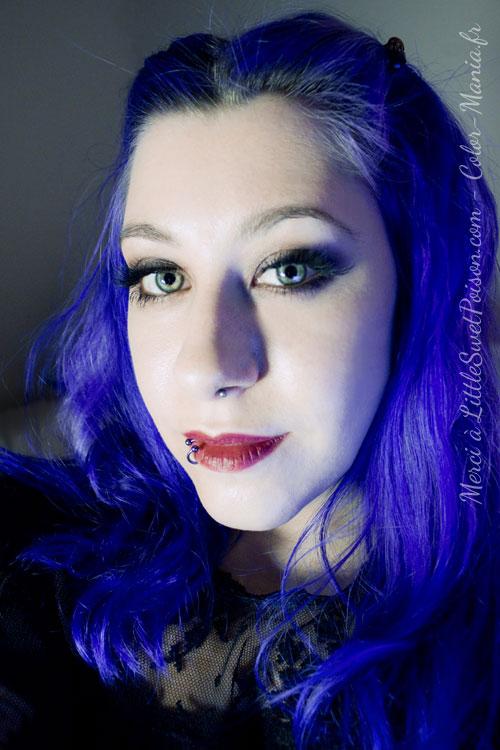 coloration cheveux bleu