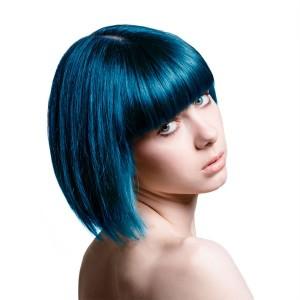 Tendance : coloration cheveux bleu