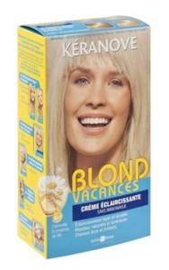 Exemple coloration cheveux eclaircissante