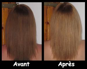 Modèle coloration cheveux eclaircissante