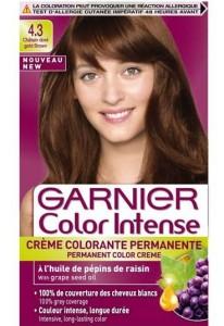 Modèle coloration cheveux garnier