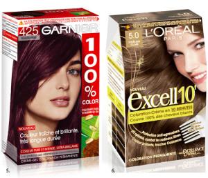 Idée coloration cheveux garnier