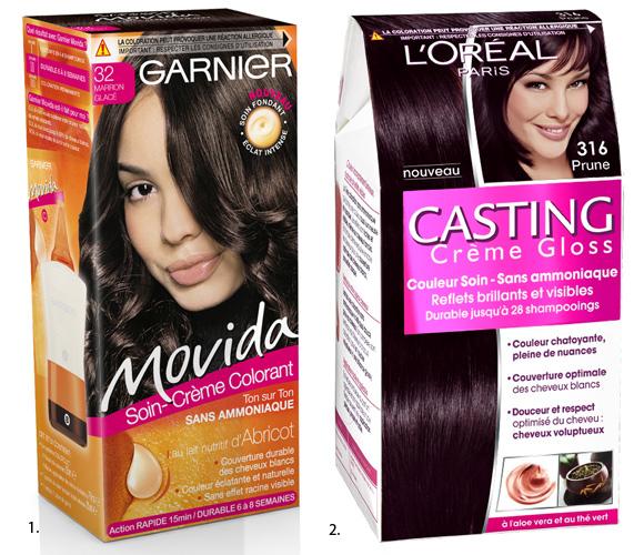 Coloration cheveux sans ammoniaque rouge