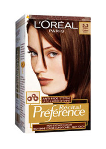 Jolie coloration cheveux garnier