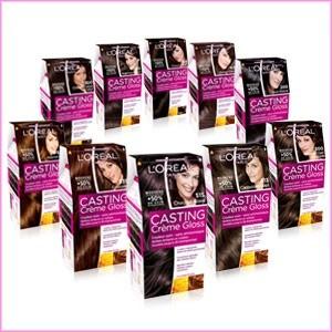 Jolie coloration cheveux gloss