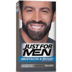 Jolie coloration cheveux homme noir