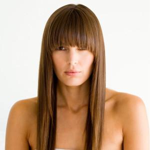 Belle coloration cheveux japonaise pour femme