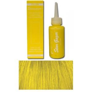 coloration cheveux jaune