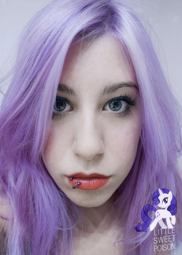 coloration cheveux lilas