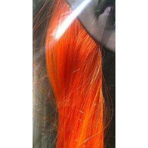 Quelle coloration cheveux orange fluo