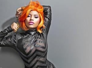 Belle coloration cheveux orange fluo pour femme