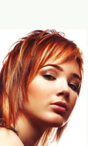 Mode pour femme : coloration cheveux originale