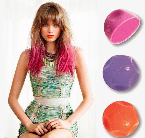 coloration cheveux temporaire - Coloration Temporaire Rouge