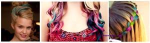 Inspiration coloration cheveux temporaire rose