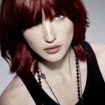 coloration cheveux temporaire rouge
