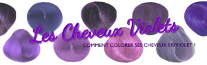 Inspiration coloration cheveux violet