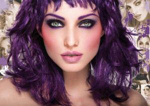 Quelle coloration cheveux violet