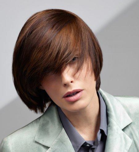 couleur cheveux chatain cuivré