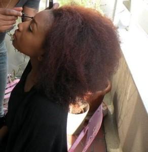 Quelle couleur cheveux defrisés