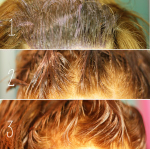 Mode pour femme : couleur cheveux fait maison