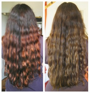 Tendance : couleur cheveux fait maison