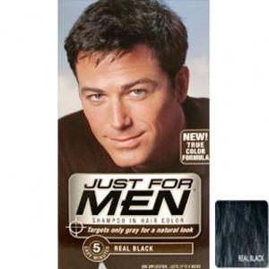 Modèle couleur cheveux homme noir
