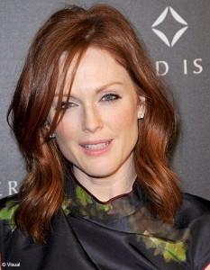 Mode pour femme : couleur cheveux julianne moore