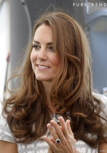 Exemple couleur cheveux kate middleton