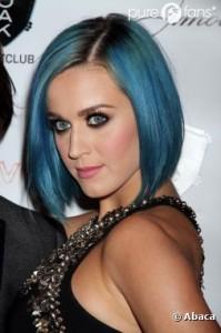 Mode pour femme : couleur cheveux katy perry