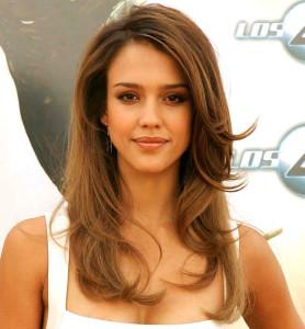 Jolie couleur cheveux long