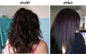 Modèle couleur cheveux maison