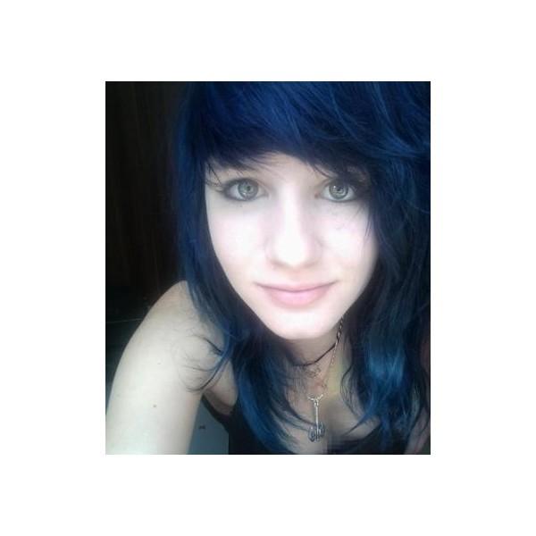 Mode pour femme couleur cheveux noir bleut - Couleur noir bleute ...