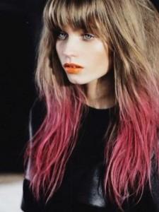 Modèle couleur cheveux original
