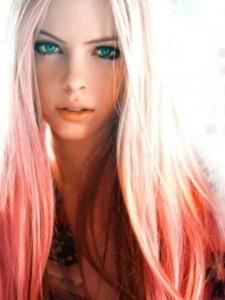 Idée couleur cheveux original