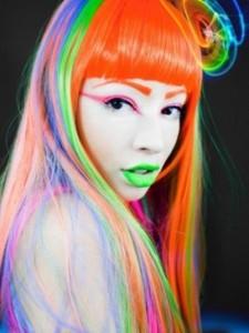 Mode pour femme : couleur cheveux original