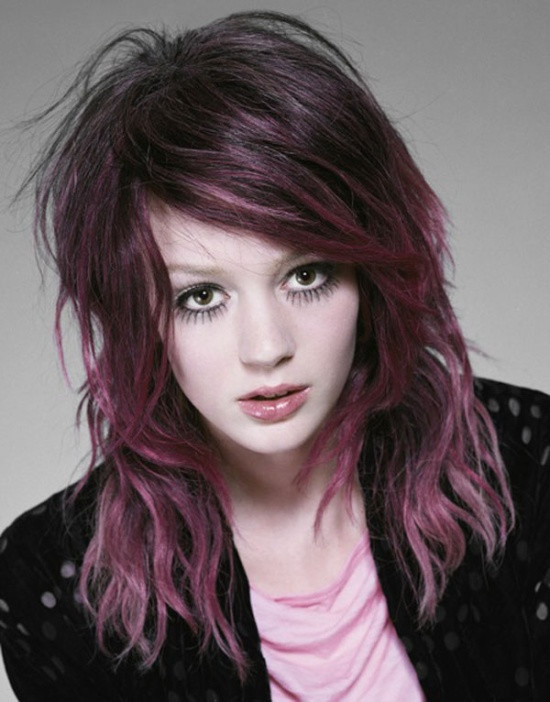 Coloration cheveux originale