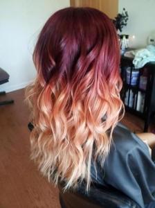 Jolie couleur cheveux original