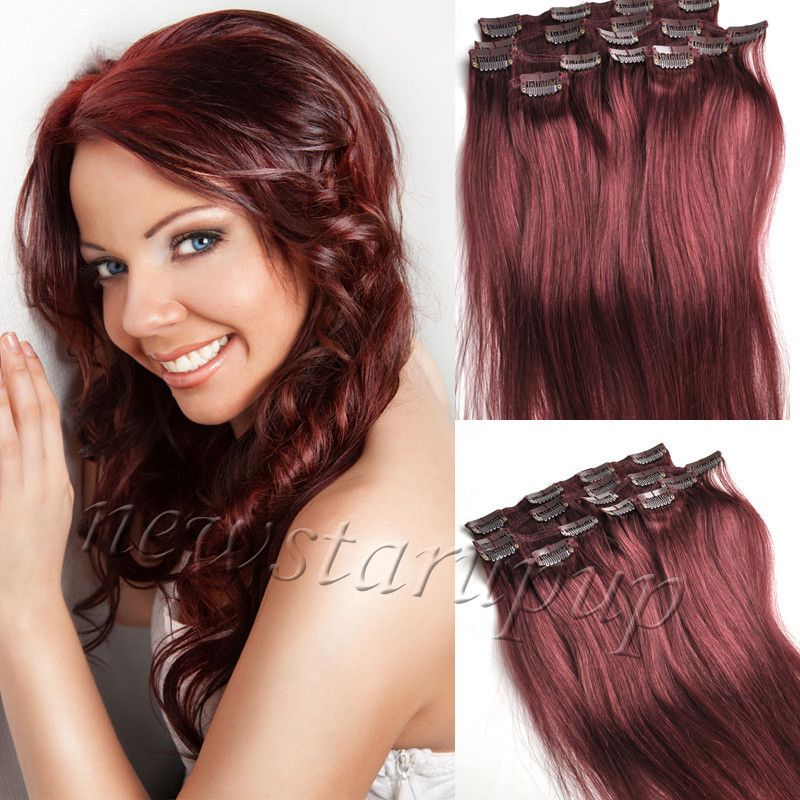 Coloration prune cheveux