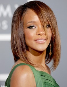 Inspiration couleur cheveux rihanna