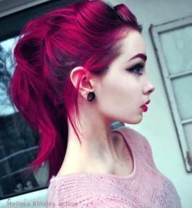 Idée couleur cheveux rose
