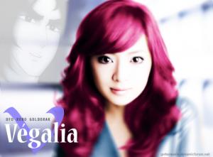 Modèle couleur cheveux rose