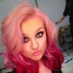 couleur cheveux rose