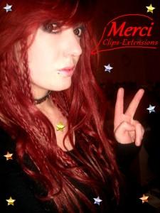 Inspiration couleur cheveux rouge rubis
