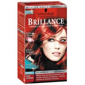 Tendance : couleur cheveux rouge rubis