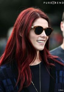 Quelle couleur cheveux rouge rubis