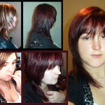 couleur cheveux violine