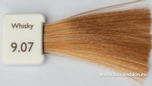 Modèle couleur cheveux whisky
