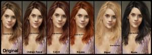 Mode pour femme : couleur cheveux whisky